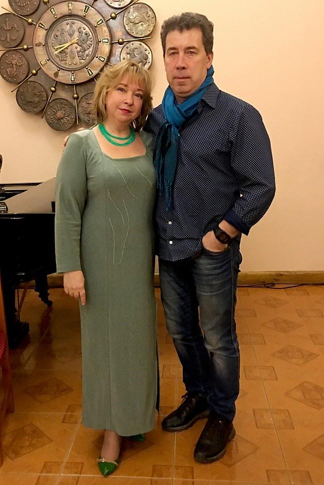 Участники концерта: Ирина ОВЧАРЕНКО И Сергей ЛЕОНТЬЕВ
