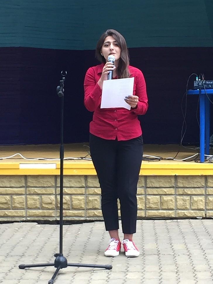 Выступление Лусии КУРБАЛИЕВОЙ