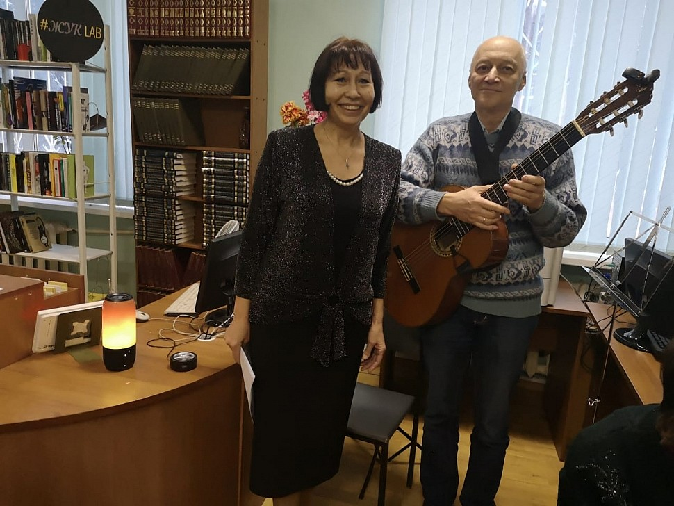 Дуэт Галины Акуловой и Игоря Бочкова