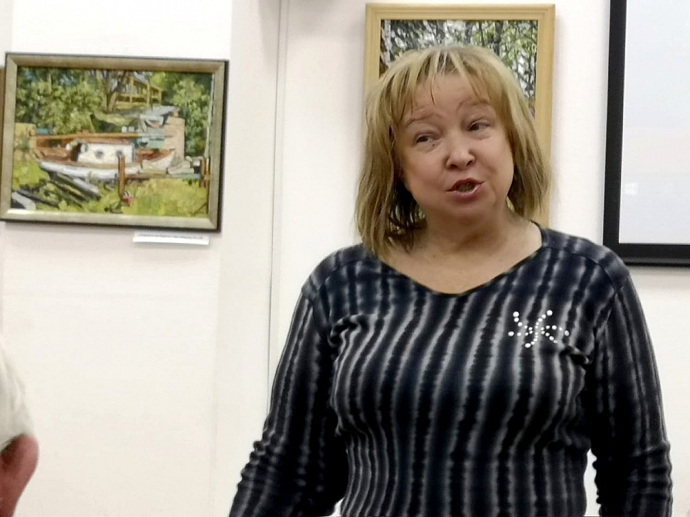 Выступление И. Овчаренко
